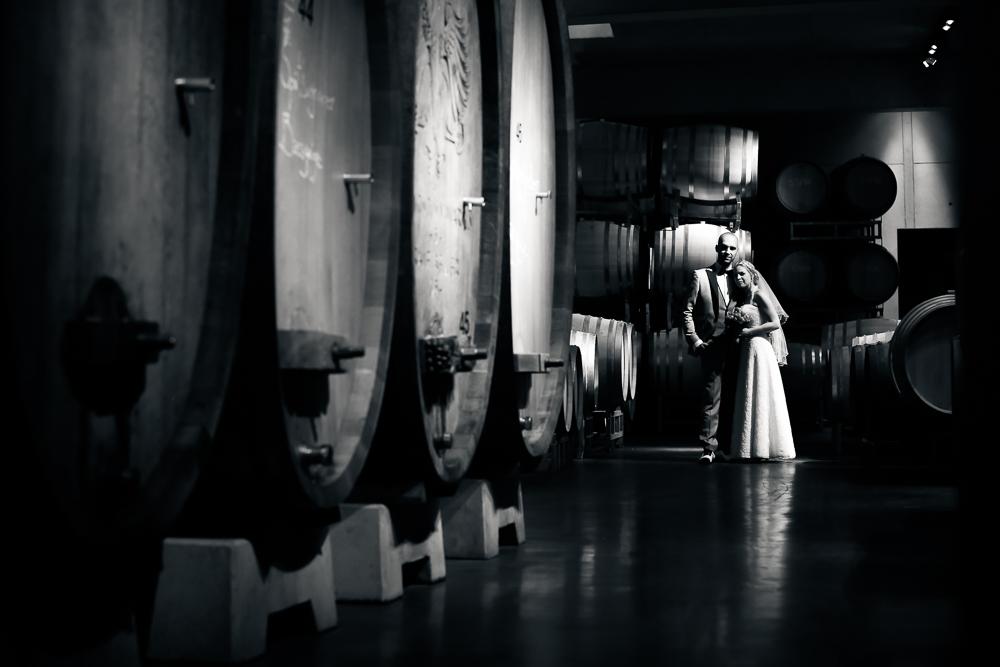 Hochzeit in der KellerWirtschaft von Franz Keller im Kaiserstuhl